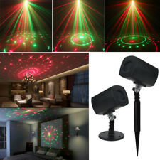 Red Green Outside Galaxy LED Projector Laser Light Stage Garden Party Lawn Xmas