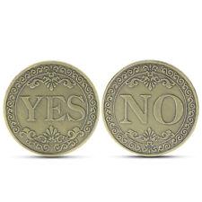 Yes or No Lucky Decision Coin Bronze Commemorative Coin Retro Collection Gift