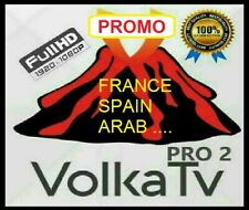 😱Livra🔥VOLKA PRO 2 CODE OFFICIEL 12 MOIS ( SMART TV, M3U, XTREAM, MAG ANDROID)