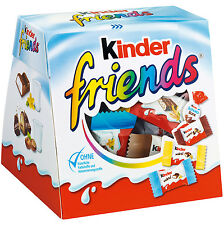Kinder Friends 4 Different Kinder Chocolate Products Country, Bueno, 200g