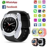 Bluetooth Sports Camera IOS Android Smartphone GSM 2G SIM Phone Mate Smart Watch