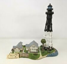 1999 Harbour Lights Hillsboro Inlet Florida Fl #225 Lighthouse Figurine Fw20