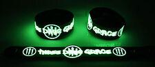 Three Days Grace  Glow in the Dark Rubber Bracelet Wristband I Am Machine gg168