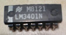 National LM3401N Quad Op. Amp. - NOS