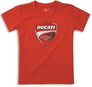 Ducati Corse Sketch Children Kids short Sleeve T-Shirt New