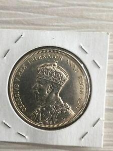 1935 SILVER DOLLAR CANADA AU+