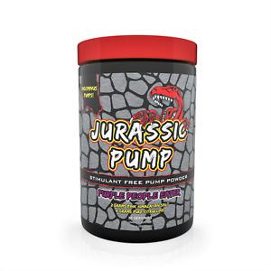 Jurassic Pump Stimulant Free Preworkout Muscle Pump Powder Nitric Oxide Booster