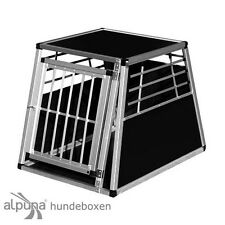 N1 Trasportino per cane gitterbox ALLUMINIO SCATOLA CANI ALUBOX auto