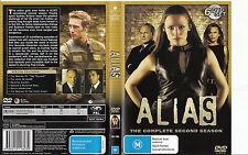 Alias-2001/06-TV Series USA-The Complete Second Season-6 Disc-DVD