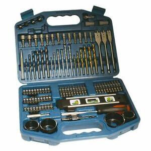 Makita 101 Piece Drill Bit Holesaw Masonry HSS Drill Socket Flat Bit Set P-67832