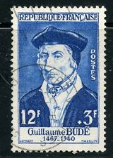 STAMP / TIMBRE FRANCE OBLITERE N° 1066 / CELEBRITE / GUILLAUME BUDE COTE 7 €