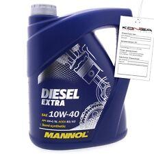 5 Liter MANNOL Diesel Extra 10W-40 API CH-4 SL Motoröl 10W40 4036021505152