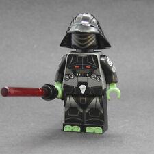 Custom 8th Brother minifigures star wars on lego bricks inquisitor