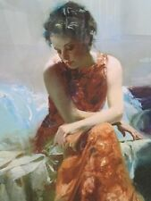 """Pino Daeni """"Solace"""" Limited Edition Giclee on Paper FRAMED"""