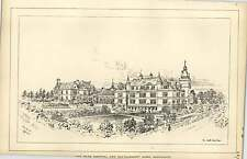 1889, The Bath Hospital And Convalescent Home Harrogate South-east View