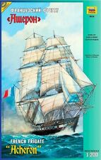 ZVEZDA 9034 FRENCH FRIGATE ACHERON SCALE MODEL KIT 1/200 NEW