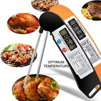 LCD Digital Read Food Probe Cooking Meat Kitchen BBQ Thermometer Temperature