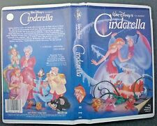 VHS tape black diamond classic CINDERELLA model 410