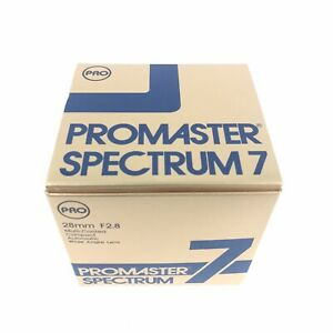 New Vintage ProMaster Spectrum7 64mmD X 43.5mm F2.8 For PENTAX K No.2330