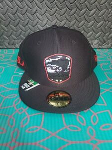 BLACK New Era New England Patriots Salute to Service Cap Hat 39THIRTY Sz 7 1/4