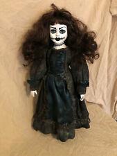 OOAK Lady with Stitches Creepy Horror Doll Art by Christie Creepydolls
