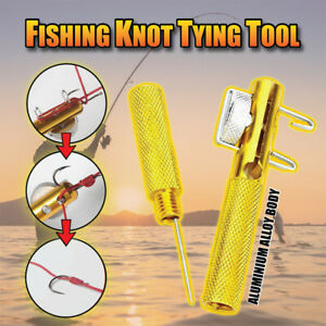 Practical Knot Line Tying Knotting Tool Manual Portable Fast Fishing Supplies