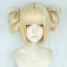 My Boku no Hero Academia Himiko Toga Light Blonde Ponytail Cosplay Wig Cap Anime