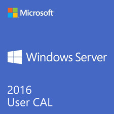Microsoft Windows Server 2016 10 User Client Access License CAL (NEW SEALED OEM)