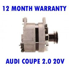 AUDI COUPE 2.0 20V 1989 1990 1991 ALTERNATOR 12 MONTH WARRANTY