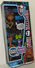 "MONSTER HIGH Collection_DEAD TIRED Series_CLAWDEEN WOLF 9 "" Fashion Doll_New_MIB"
