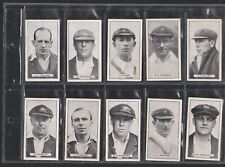 Complete set: B Morris & Sons Ltd. AUSTRALIAN CRICKETERS A series of 25 Subjects