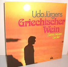 LP Udo Jürgens - Griechischer Wein - Seine neuen lieder