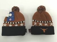 NCAA UT University of Texas KIDS Longhorns Official Licensed KNIT Pom Hat NEW