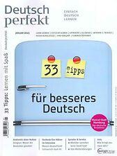 Deutsch perfekt - kompletter Jahrgang 2015 - 12 Hefte 2015 +++ wie neu +++