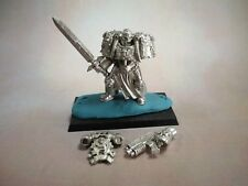 Warhammer 40K SPACE MARINE - SILAS HAND Black Library Limited edition figure OOP
