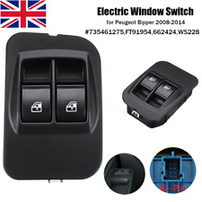 8 Pin Electric Window Switch with Frame For Fiat Peugeot Bipper Citroen 08-2014