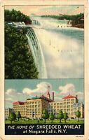 Vintage Postcard - The Home of Shredded Wheat Niagara Falls New York NY #5108