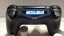 PlayStation 4 PS4 Controller Metal Gear Led Light Bar Decal Sticker !!!