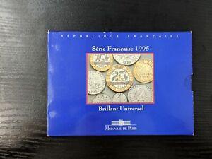 Monnaie de Paris Coffret Brillant Universel BU 1995 10 pièces