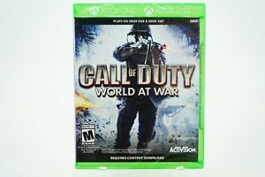 Call of Duty World at War: Xbox One [Brand New]
