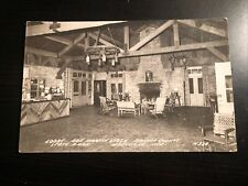 Photo Postcard--INDIANA--Nashville--Abe Martin Lodge-Lobby Interior Brown County