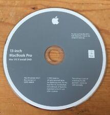 2009 Mac Macintosh 13 Inch MacBook Pro Leopard OS X 10.5.7 Install DVD v1.1