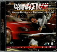 Carmageddon Racing For The Chemically Imbalanced Pc Brand New Sealed Nice