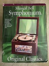 Vtg Original Classics Mr. Christmas Musical Bell Symphonium Music Box 16 discs
