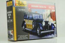 HISPANO SUIZA K6 Car Kit DE MONTAGE PLASTIQUE 1:24 HELLER 80704 neuf et emballé