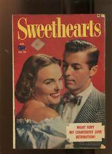 SWEETHEARTS #98 (2.5) NIGHT FURY! 1951