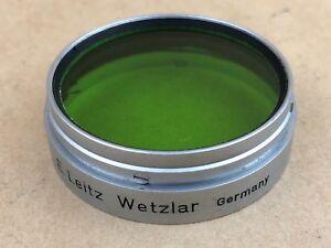 Leica SUMMARIT 1:1.5 f=5cm / LEITZ Xenon f=5cm 1:1.5 GREEN Filter / Leitz