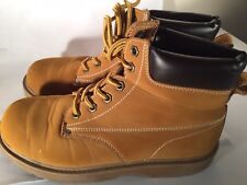 Men's Boots Size 8.5 Work Occupational Yellow Target 17730 57147