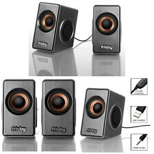 New listing Computer Speaker Usb Powered For Pc Laptop Notebook Desktop Small Audio System
