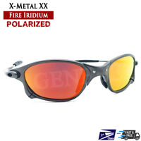 X-Metal XX Sunglasses Alloy Frames UV400 Polarized Fire Iridium Lenses - USA
